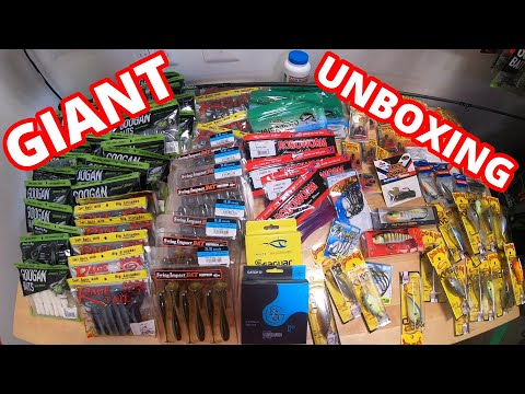 MASSIVE Black Friday Tackle Unboxing {ALL I NEED FOR 2021} Baits, Terminal Tackle, Gear
