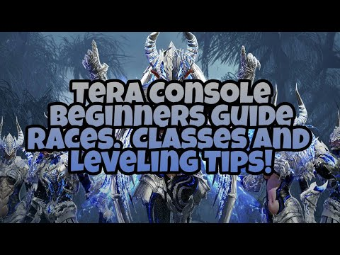 Tera Console - Beginners Guide - Races, Classes & Leveling Tips (High Volume Warning)