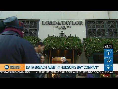 Business Report: Hudson's Bay data breach, China confirms tariffs on U.S. goods