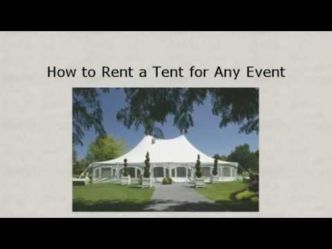 Jacksonville Tent Rentals : All About Events