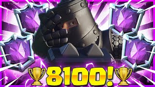 CURRENT BEST LADDER DECK in CLASH ROYALE NOW!! 🏆