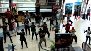 dance practice at hyderabad imax for flash mob