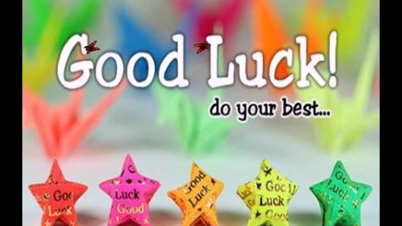 good luck wishes for future for exam new job for comp sms