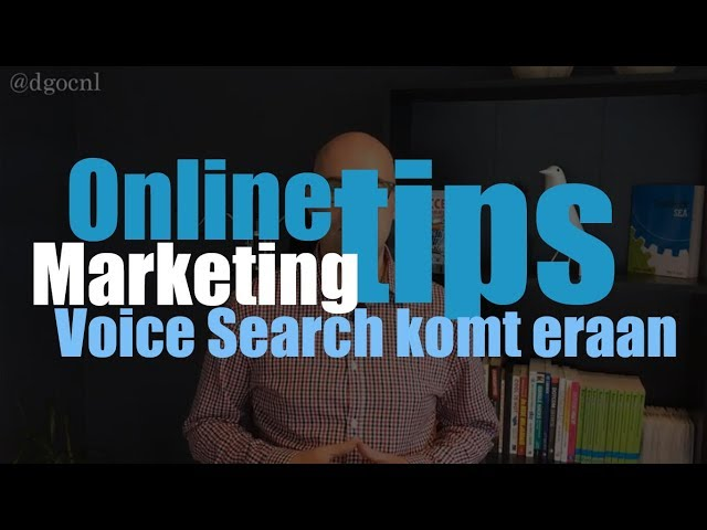 Voice Search komt eraan
