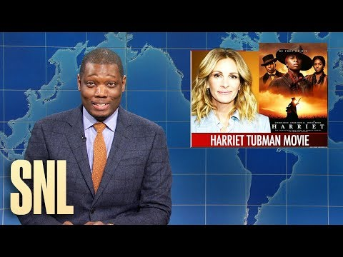 Weekend Update: Harriet Tubman & Buttigieg Dance - SNL