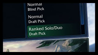Solo Queue ANXIETY
