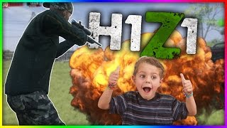 DUAL NO-SCOPES FOR FINAL KILL! (H1Z1 Funny Moments) Glitches, Crate Opening, Hackers, Wins, Fails.