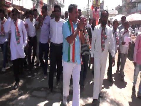 Lok Sabha 2019: Paresh Dhanani holds a padyatra in Amreli
