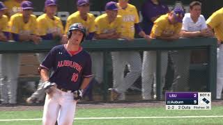 Auburn Baseball vs LSU Game 3 Highlights