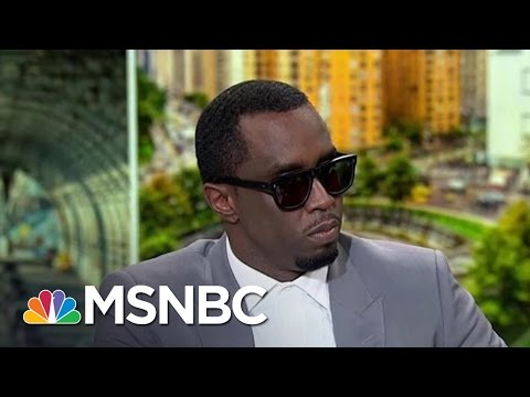 Sean 'Diddy' Combs Talks Education, Presidential Politics | PoliticsNation | MSNBC