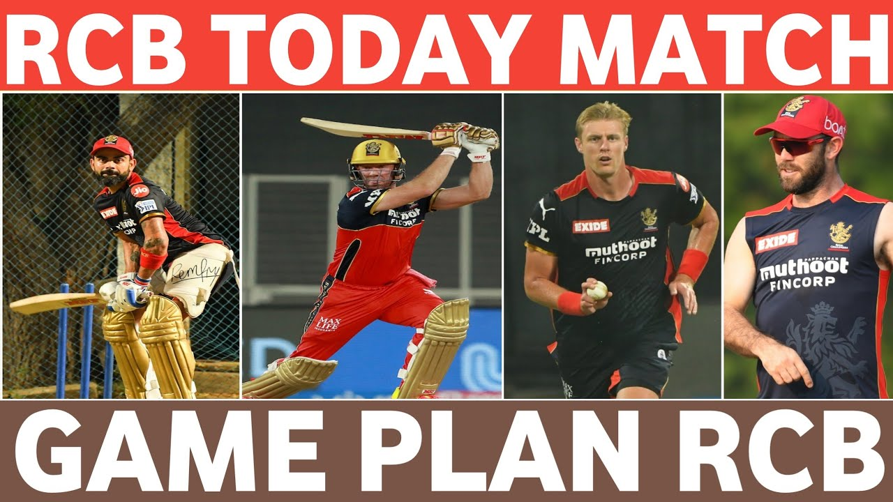 2021 IPL RCB today match || game plan || #Never_Give_Up