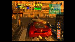 Wreckless the Yakuza Missions Gameplay A1-A4 (Xbox)