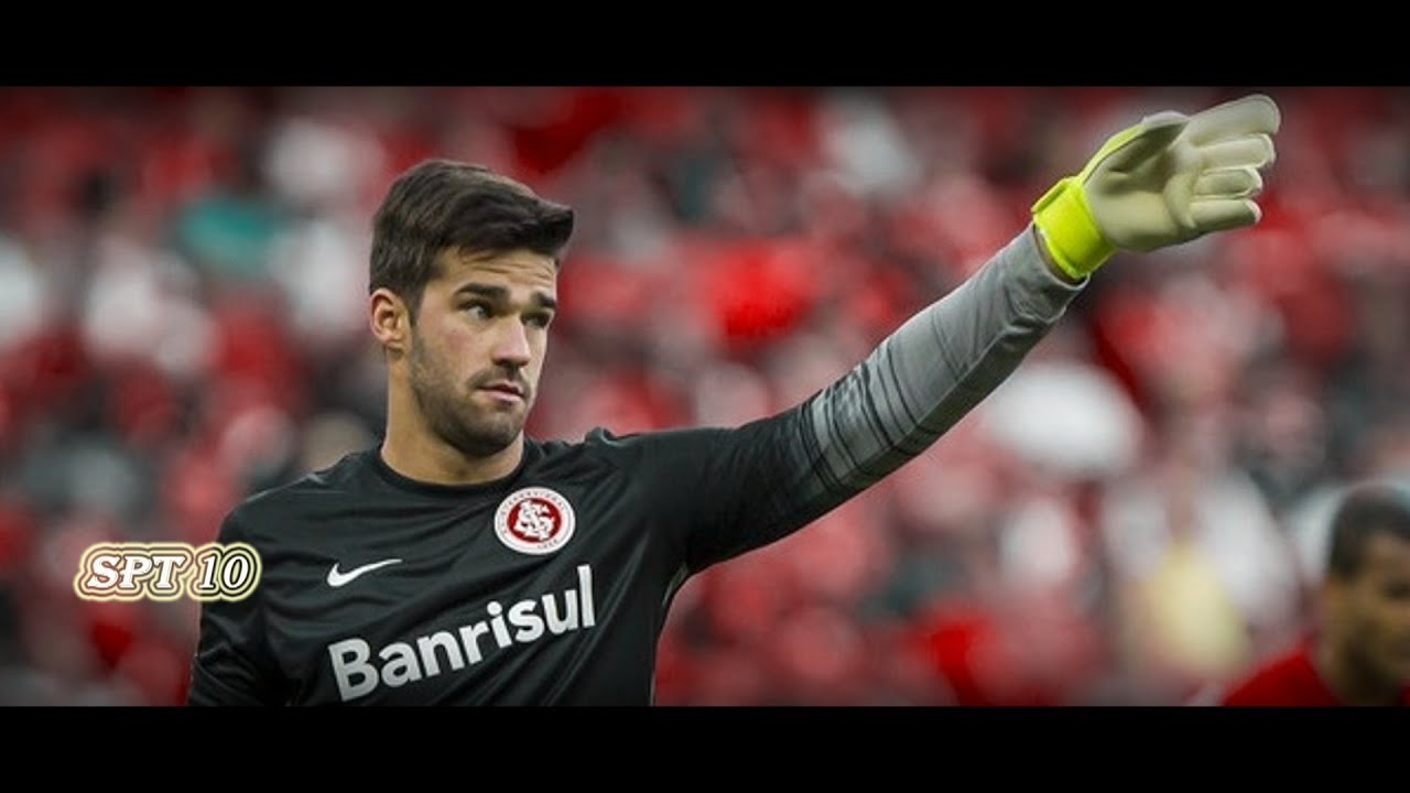 alisson becker welcome to roma best saves internacional