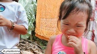 Thử ăn chùm ruột cái kết... | Ly Hai Minh Ha Family
