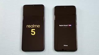 Realme 5 vs Redmi Note 7 Pro SpeedTest & Camera Comparison