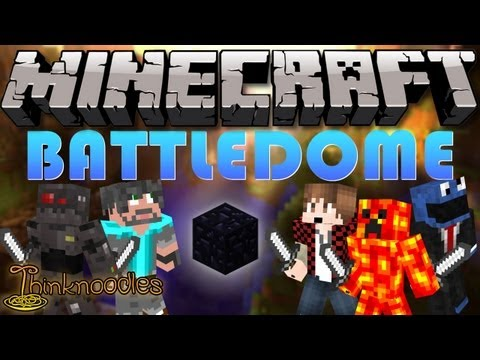 Minecraft: Battle-Dome w/ Graser10, BajanCanadian & TBNRFrags!