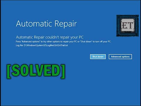 how-to-fix-automatic-repair-loop-in-windows-10---startup-repair-couldn't-repair-your-pc