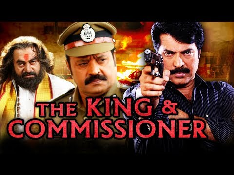 The King & Commissioner Hindi Dubbed Full Movie | Mammootty, Suresh Gopi, Saikumar
