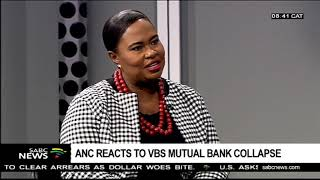 ANC reacts to VBS Mutual bank collapse