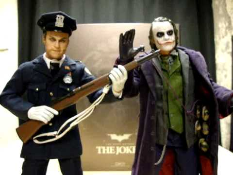 The Dark Knight Movie Masterpiece Dx01 Joker Update Emgo S Hot Toys