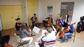 First Rehearsal ever - CELLO OCTET LUXEMBOURG