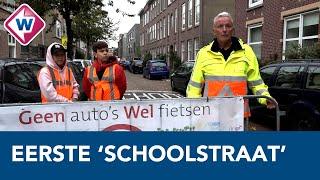 Eerste 'schoolstraat' in Den Haag