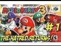 Mario Party 3! The Hatred Returns Part 1 - YoVideogames