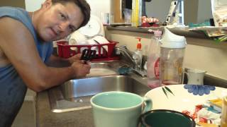 "Attention PARENTS ""WASHING THE DAMN DISHES 101"""