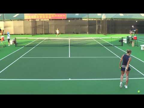 01 29 2010 USC Vs SD women's tennis singles 13 of 15