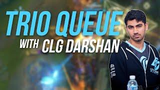 Imaqtpie - TRIO QUEUE WITH CLG DARSHAN ft. IWDominate