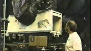 movie magic GODZILLA  baby godzilla suit tests 2