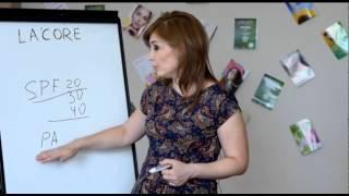 La-core.uz Уроки профессионального  косметолога Азизы.А.  Об  уходе  за  лицом  урок  №1
