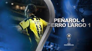 Peñarol vs. Cerro Largo [4-1] | RESUMEN | Primera Fase | VUELTA | CONMEBOL Sudamericana