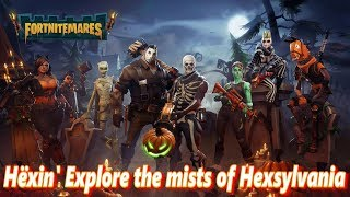 Fortnitmares Hёxin Explore The Mist - Fortnite Save The World