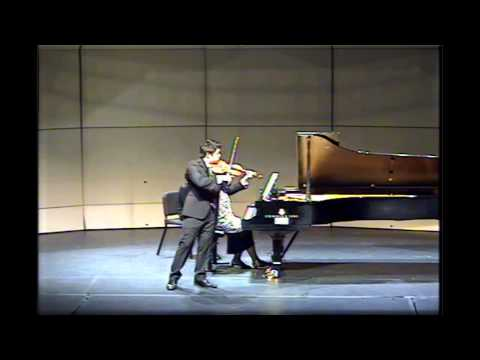 Kevin Lin -- Menuhin Competition 2014 -- Senior 1st Round