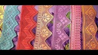 Tığişi Örgü Dantel Havlu Kenarı Modelleri  Crochet