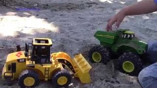 Yellow Toy Dump Truck with Lights and Sound #3