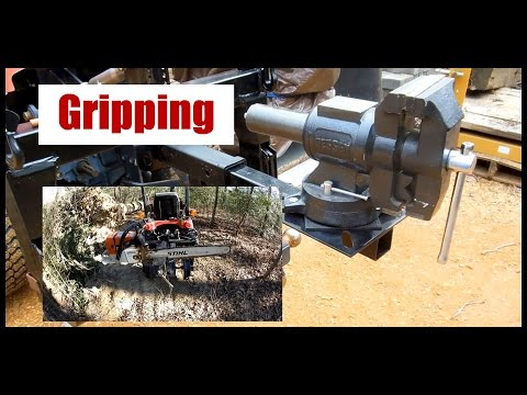 Mobilize your Vice and Grinder with Harbor Freight Hitch Mount