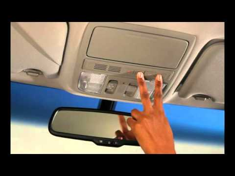 Overhead Homelink 2011 Honda Accord Youtube