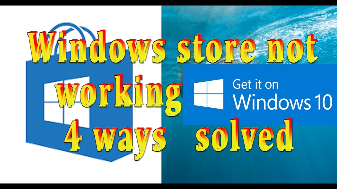 Windows 10 store does not work - How To Fix Windows 10 Store Not Working Quick Solution 4 Methods To Fix And Repair Urdu Hindi