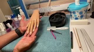 State Board Basic Manicure