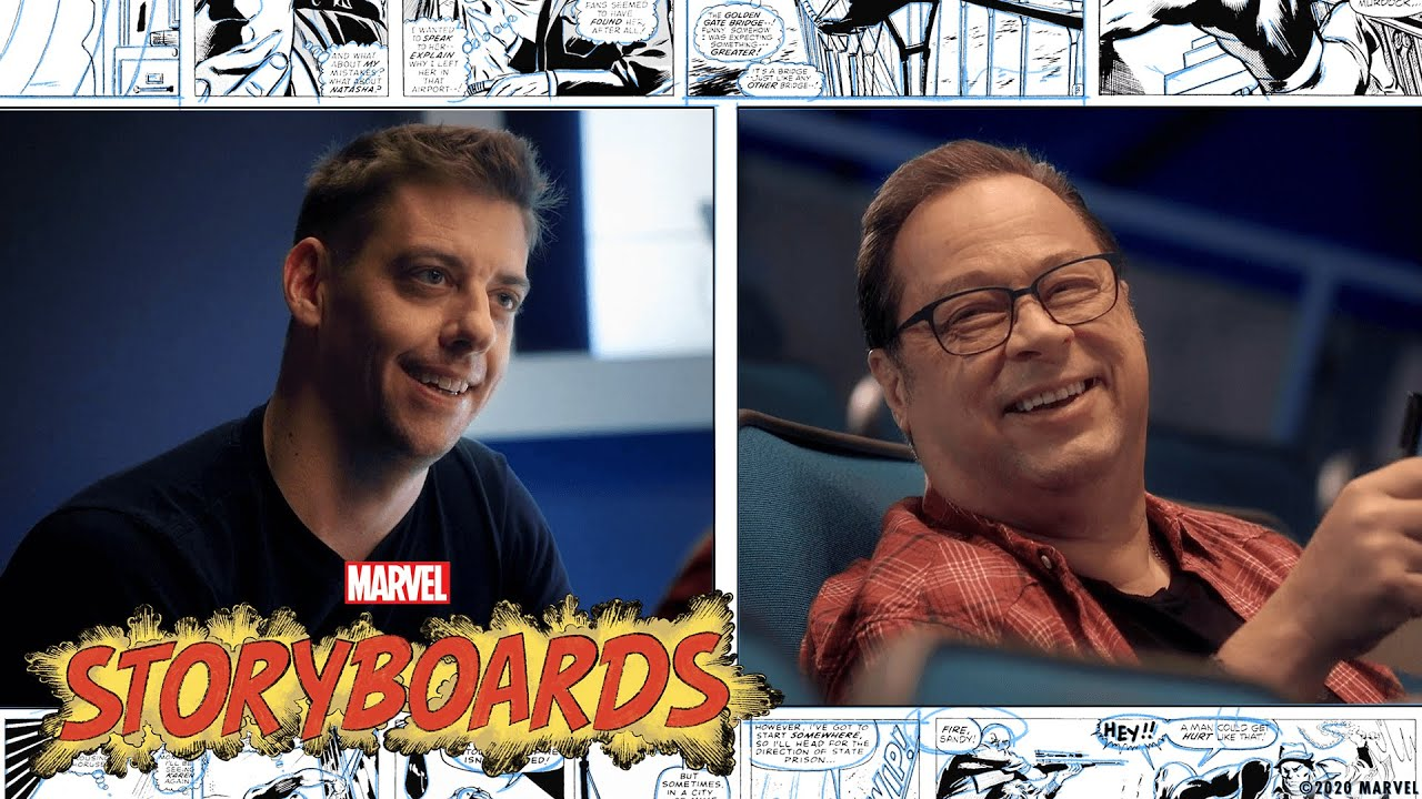 Christian Borle & Comics in Theatre! | Marvel's Storyboards