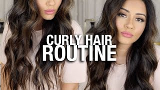 HOW I CURL MY LONG HAIR TUTORIAL | KAUSHAL BEAUTY