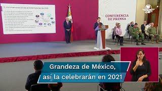 Zoé Robledo, representante del gobierno federal en la Comisión para los Festejos Patrios detalló los eventos que se realizarán en 2021