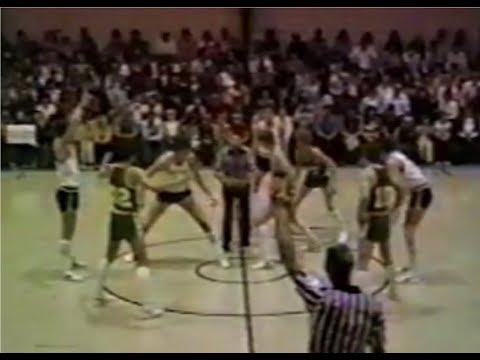 1981 SEAIS Class B Basketball State Championship: Lagrange Warriors at Twiggs Academy Trojans