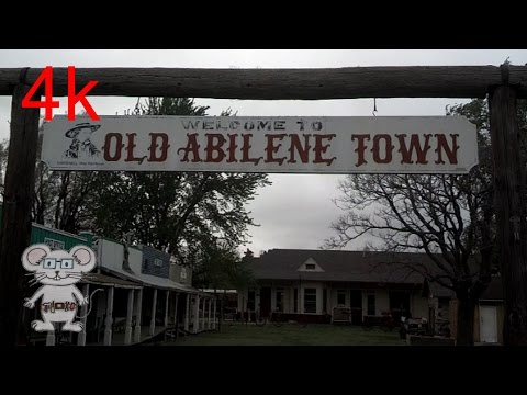 Historic Old Abilene Town  (Abilene, Kansas) In 4K