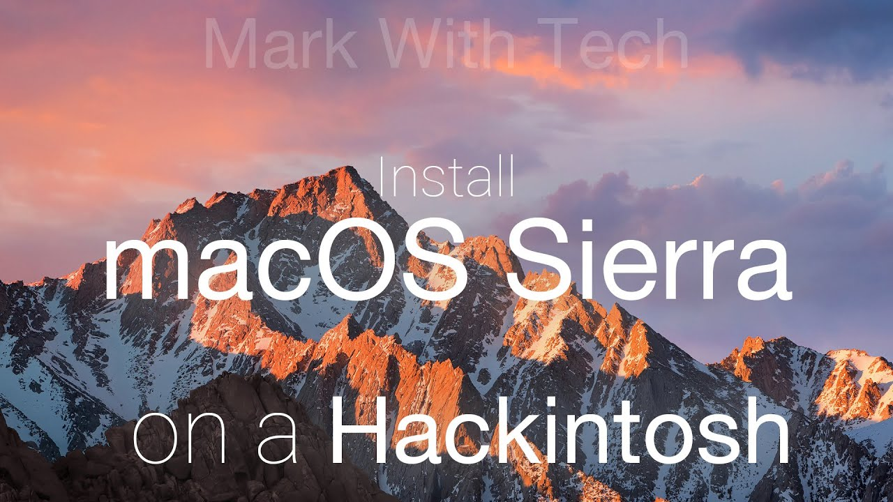 Asrock X99 macOS Sierra Hackintosh Installation Guide