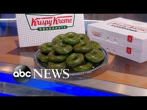 Krispy Kreme celebrates St. Patrick's Day l GMA
