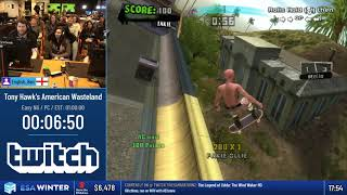 #ESAWinter19 Speedruns - Tony Hawk's American Wasteland [Easy NG] by English_Ben