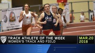 Arizona's Karolina Pahlitzsch named Pac-12 Women's Track Athlete of the Week winner